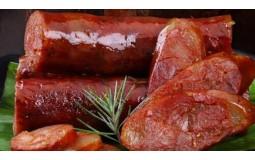 四川麻辣香肠腊肉农家土猪肉7分瘦特产辣肠自制手工正宗腊肠川味500g