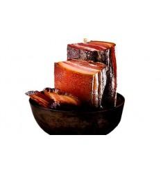 五花腊肉500g四川美食特产非湖南湘西贵州云南腊肉农家自制烟熏咸肉柴火腊肉 川味五花腊肉
