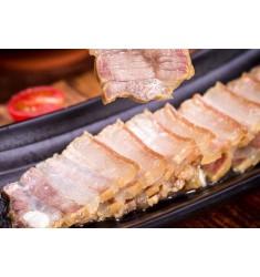 风干咸肉农家自制腌肉土猪家乡五花咸肉安徽腊肉500g特产刀板香