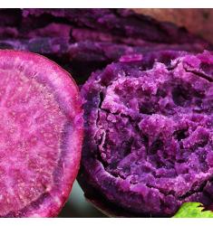 农家新鲜紫薯5斤装紫薯番薯地瓜紫心农家沙地蔬菜