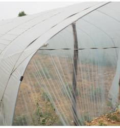 致荟树625/825型蔬菜大棚骨架钢架钢管花卉养殖大棚钢架 6米宽*30米双卷膜通风高配(配进口膜)全套