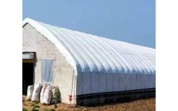 养殖大棚骨架钢管全套鸡舍保温隔热养鸡舍猪圈连体养鸡场鸡棚搭建 6*10标配含黑白膜