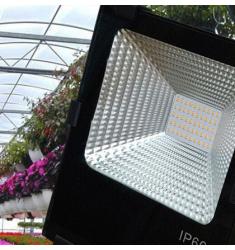 花卉补光灯上色多肉灯防水温室大棚补光灯果蔬太阳灯植物生长灯 50瓦暖白全光谱