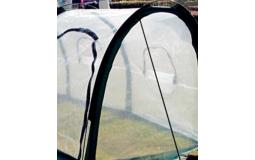 阳光骆驼 2米3米植物暖房花房多肉绿萝温室折叠式育苗棚阳台楼顶花卉蔬菜保温罩透明膜过冬防雨植物保暖棚 3x1x1米